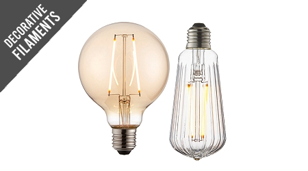 Non-Dimmable LED Globes/Squirrel Cage