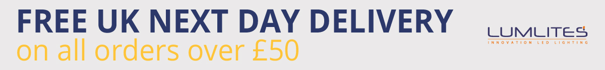 Free Next Day Delivery On Orders Over 50 Banner
