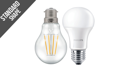 Dimmable Standard Shape Bulbs